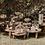 Thumbnail: Mesa Centro Trio Rústica 0,90 x 0,39 / 0,70 x 0,30 / 0,49 x 0,24
