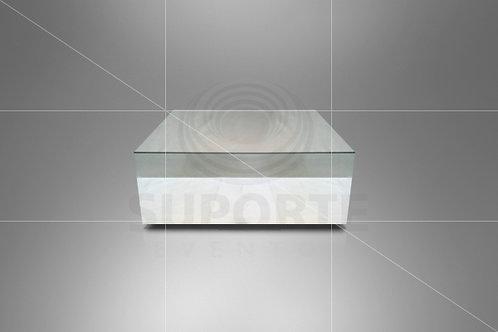 Mesa Cubo Espelhada 0,90 x 0,90 x 0,42 alt.