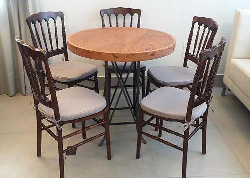 Conjunto Drink Bronze c/ Cadeira Dior ou Tiffany
