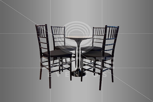 Conjunto Drink c/ Cadeira Tiffany ou Dior