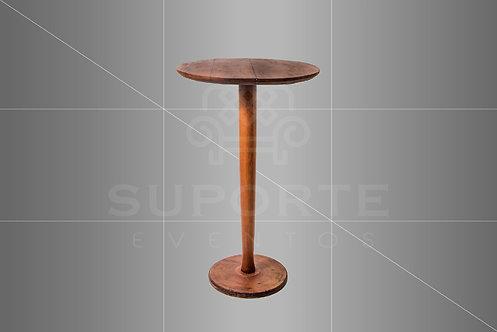 Mesa Bistrô Taça Imbuia 0,70 de diâmetro x 1,10 alt.