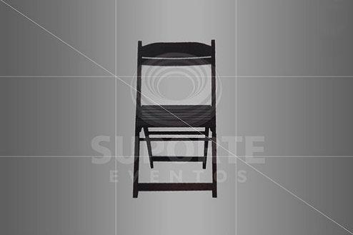 Cadeira Buteco Tabaco (Opcional o Uso do Assento e Encosto)