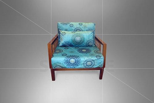 Poltrona Vime Paris Tiffany Mandala 0,82 x 0,82 (não acompanha almofada)