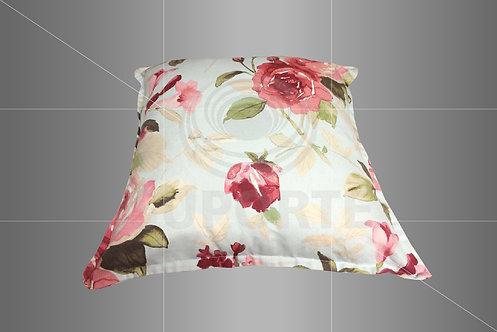 Almofada Estampa Floral 0,40 x 0,40
