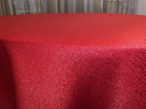 Toalha Jacquard Vermelha 2,60 de diâmetro