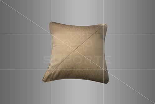 Almofada Dourada em Jacquard 0,40 x 0,40