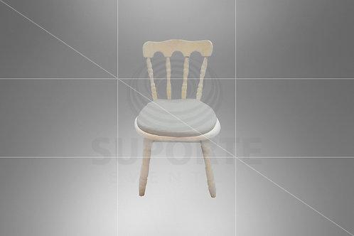 Cadeira Kids Castelo Assento Branco