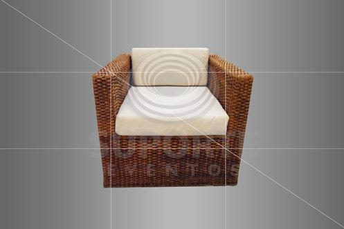 Poltrona Vime Quadrada B10 0,70 x 0,70 x 0,60