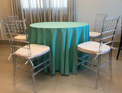Toalha Gorgurinho Azul Tiffany com 2,60 de Diâmetro