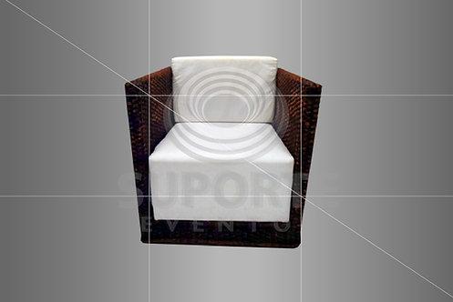 Poltrona Vime Quadrada B06 0,70 x 0,70 x 0,60