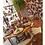 Thumbnail: Cadeira Florença em Madeira com Detalhe Verde Oliva