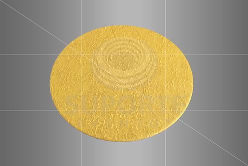 Sousplat Parise Amarelo Liso 0,32 de diâmetro