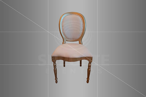 Cadeira Medalhão CH Dourada