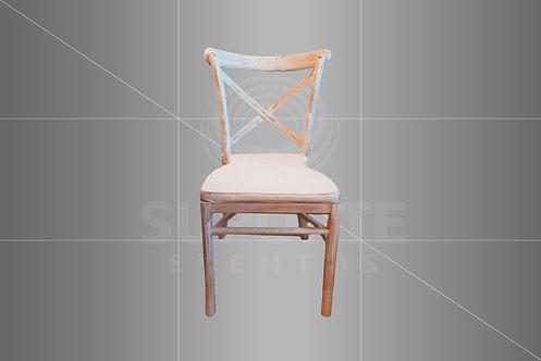 Cadeira Paris com Predominância Branca