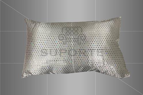 Baguete Estrelas Prateadas 0,50 x 0,30