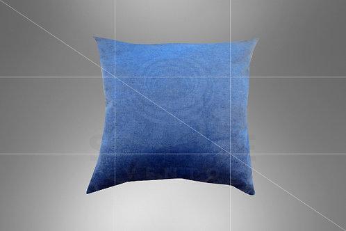 Almofada Azul Perolado 0,40 x 0,40 (Ref: B07)
