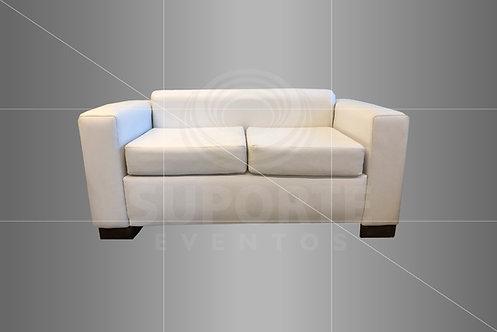 Sofá Branco 2 Lugares 1,60 x 0,80