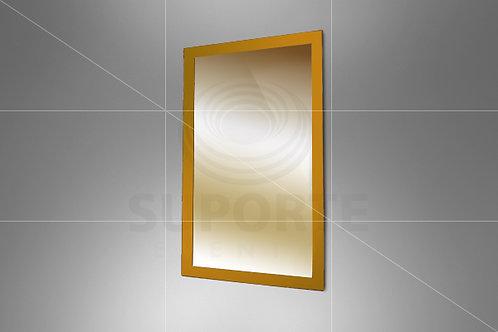Espelho Dourado 1,86 alt. x 1,10 larg.