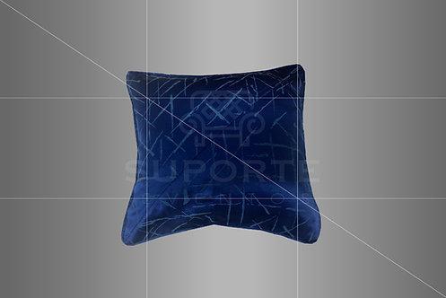 Almofada Azul em Jacquard 0,40 x 0,40