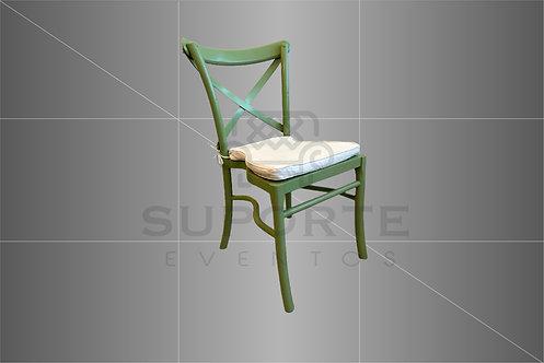 Cadeira Paris Verde Oliva