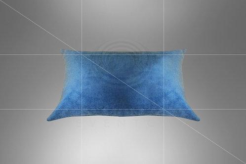 Baguete Boho Azul Jeans 0,50 x 0,20 (Ref: B13)