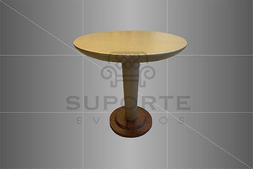 Mesa Taça Dourada 0,80 de Diâmetro