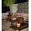 Thumbnail: Mesa Centro Natural Green 1,39 x 0,99 (C/ Vidro Bronze)