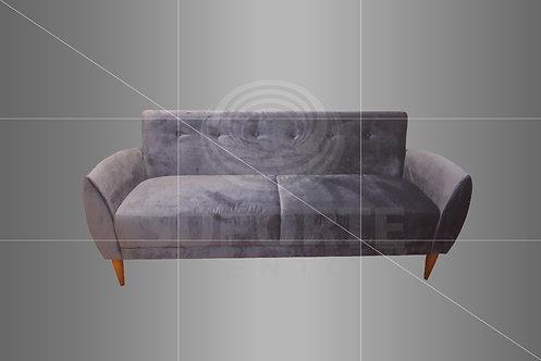 Sofá Vintage Azul 1,90 X 0,66 x 0,84 alt.