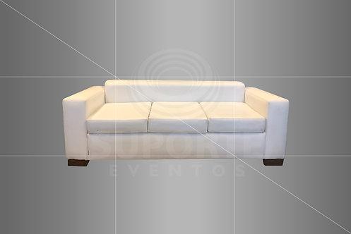 Sofá Branco 3 Lugares 2,10 x 0,80