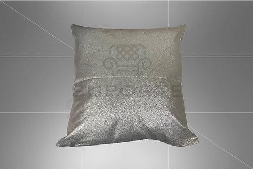 Almofada Prata c/ Brilho 0,45 x 0,45