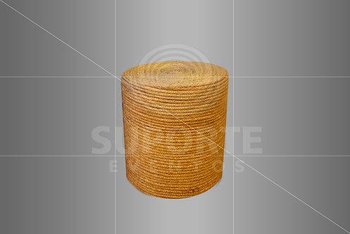 Puff Sisal 0,50 de diâmetro x 0,40 alt.