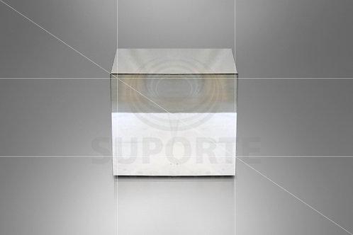 Mesa Cubo Espelhada 0,60 x 0,60 alt.
