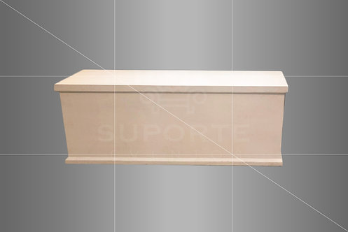 Baú branco Presente 1,60 larg. x 0,50 alt. x 0,50 prof.