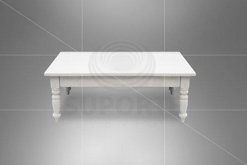 Mesa Centro Branca 1,50 x 1,00 x 0,55 alt.