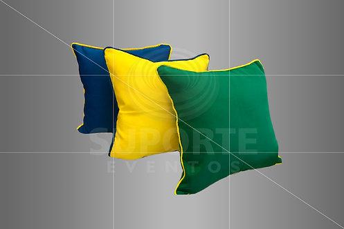Almofadas nas Cores do Brasil 0,40 x 0,40