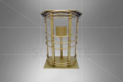 Púlpito Dourado 0,80 x 0,65 x 1,20 alt.