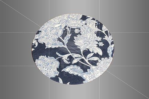 Sousplat Parise Azul Floral 0,32 de diâmetro
