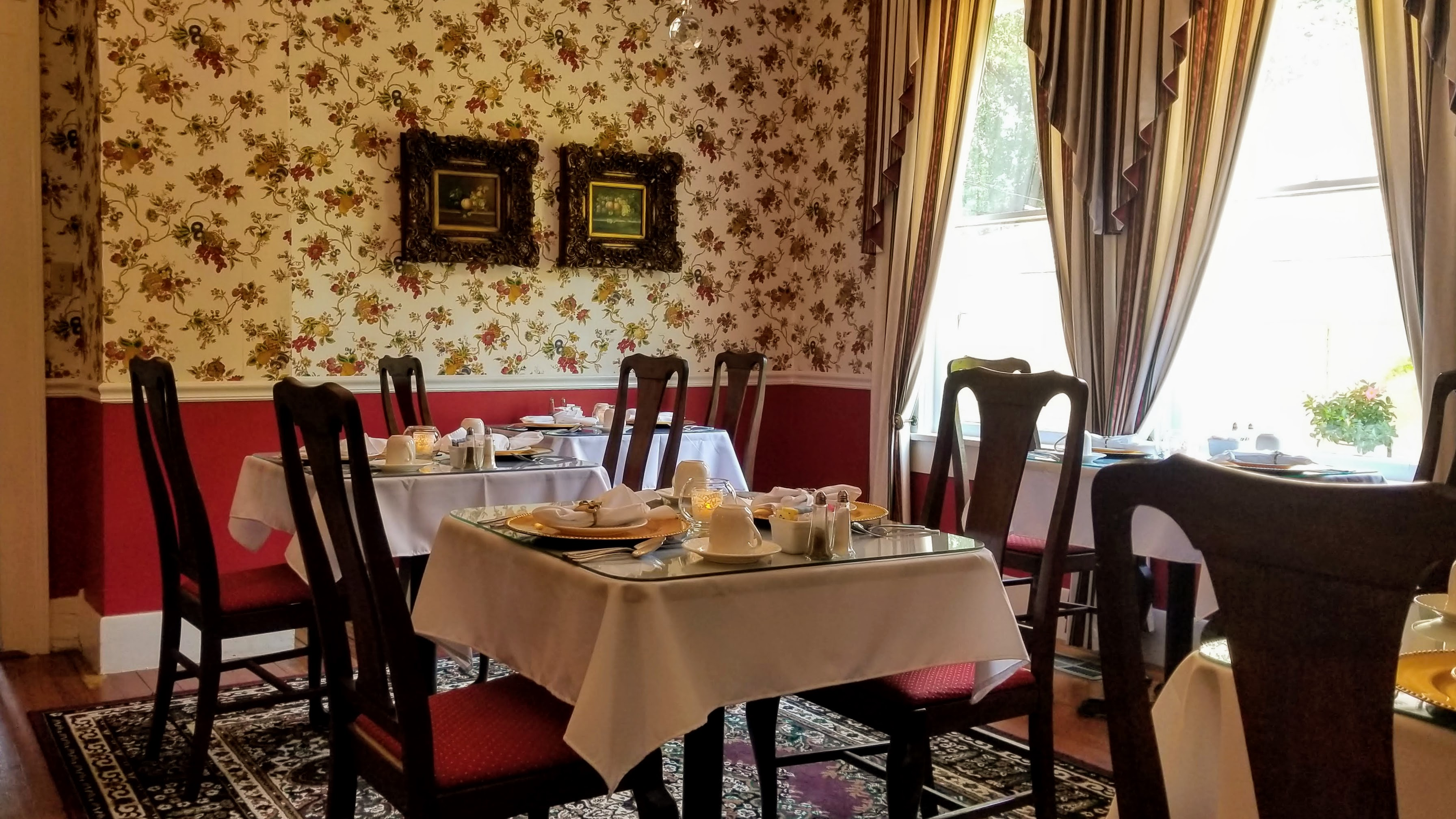 Dining Room at Judge Porter House