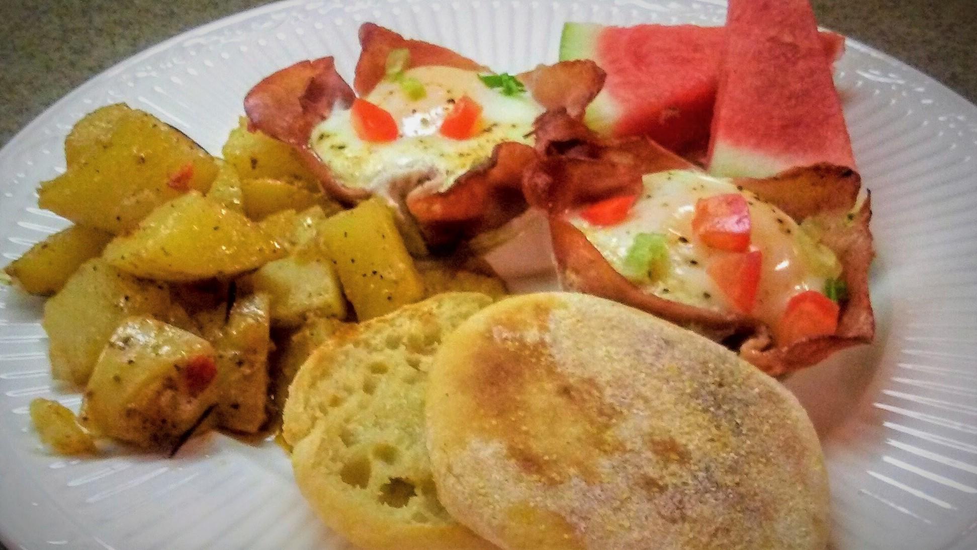 Ham and Egg Crisps