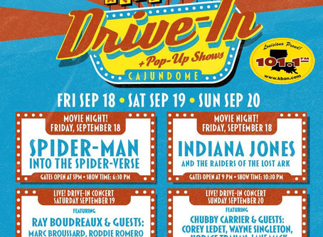 Acadiana Drive-In To Take Place This Weekend
