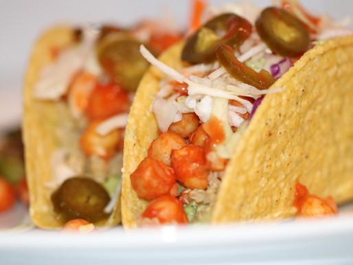 Buffalo Chickpea Tacos 🌮