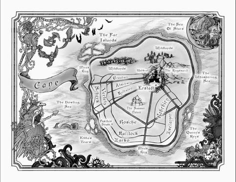 Winterspell Map