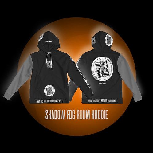 NIGHTMARE GLOW: SHADOW FOG RUUM HOODIE