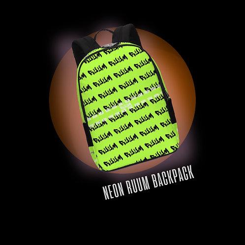 NIGHTMARE GLOW: NEON RUUM BACKPACK