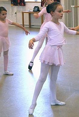 Barnbalett Liz balettskola Västerås