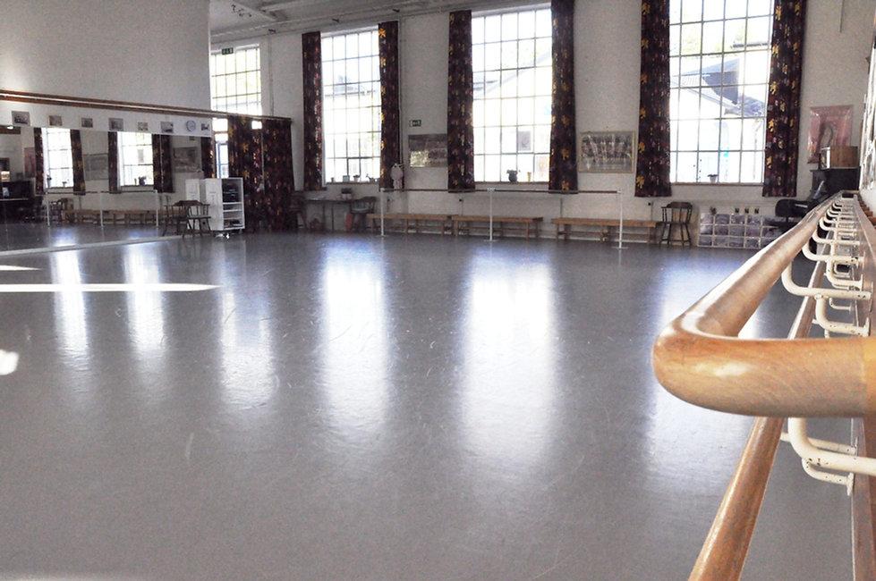 Liz Balettskola, danssalen