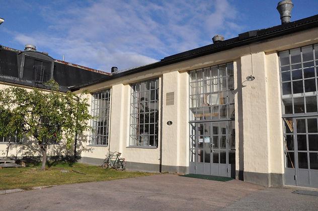 Liz Balettskola. Ingången.