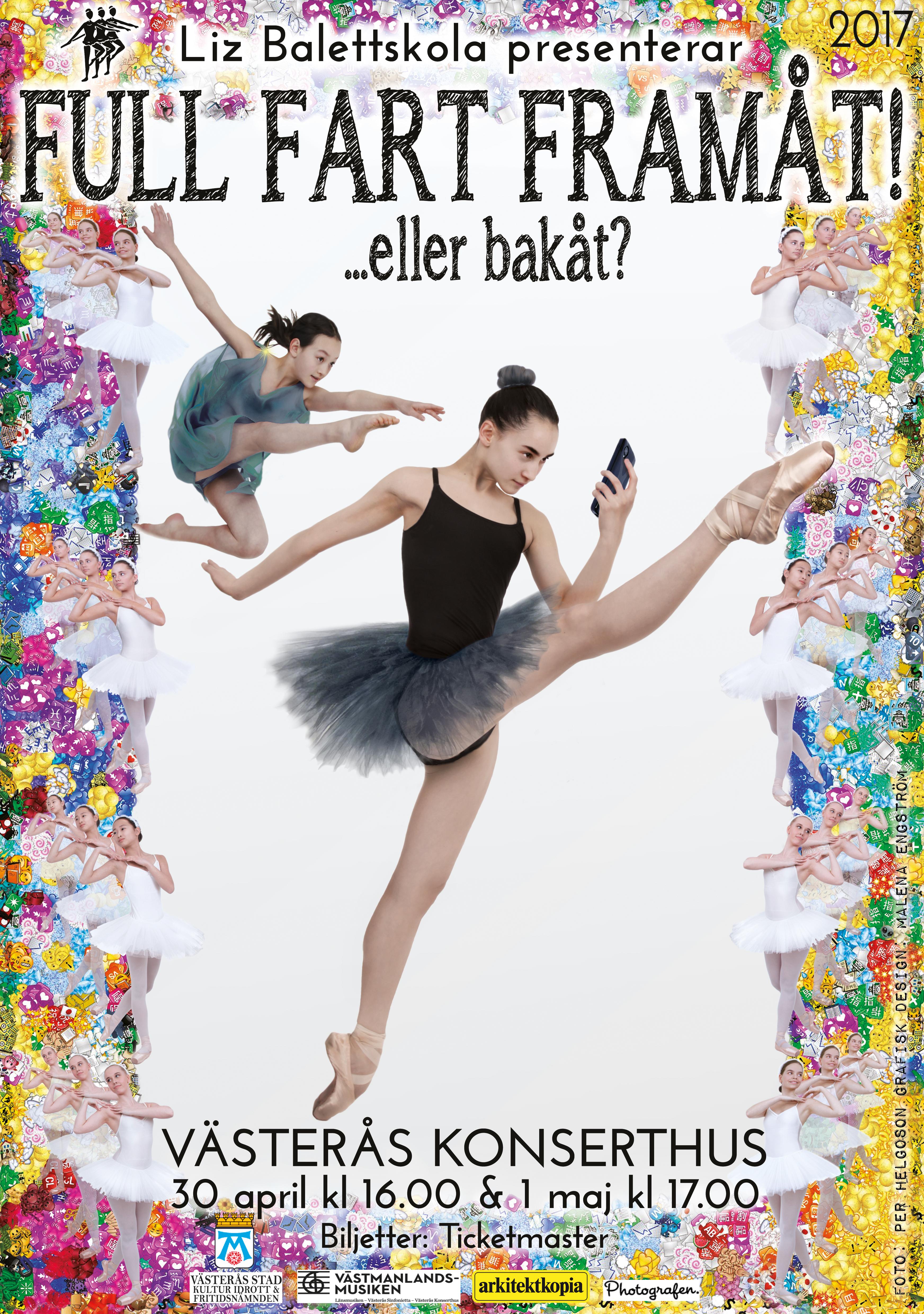 Liz Balettskola Full Fart Framåt