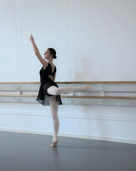Emma Mascolo Ek foto Malena Engström  Liz Balettskola
