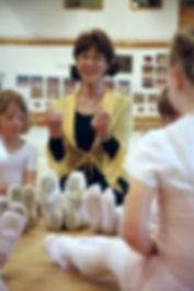 Liz Helgoson Liz balettskola Västerås Barndans